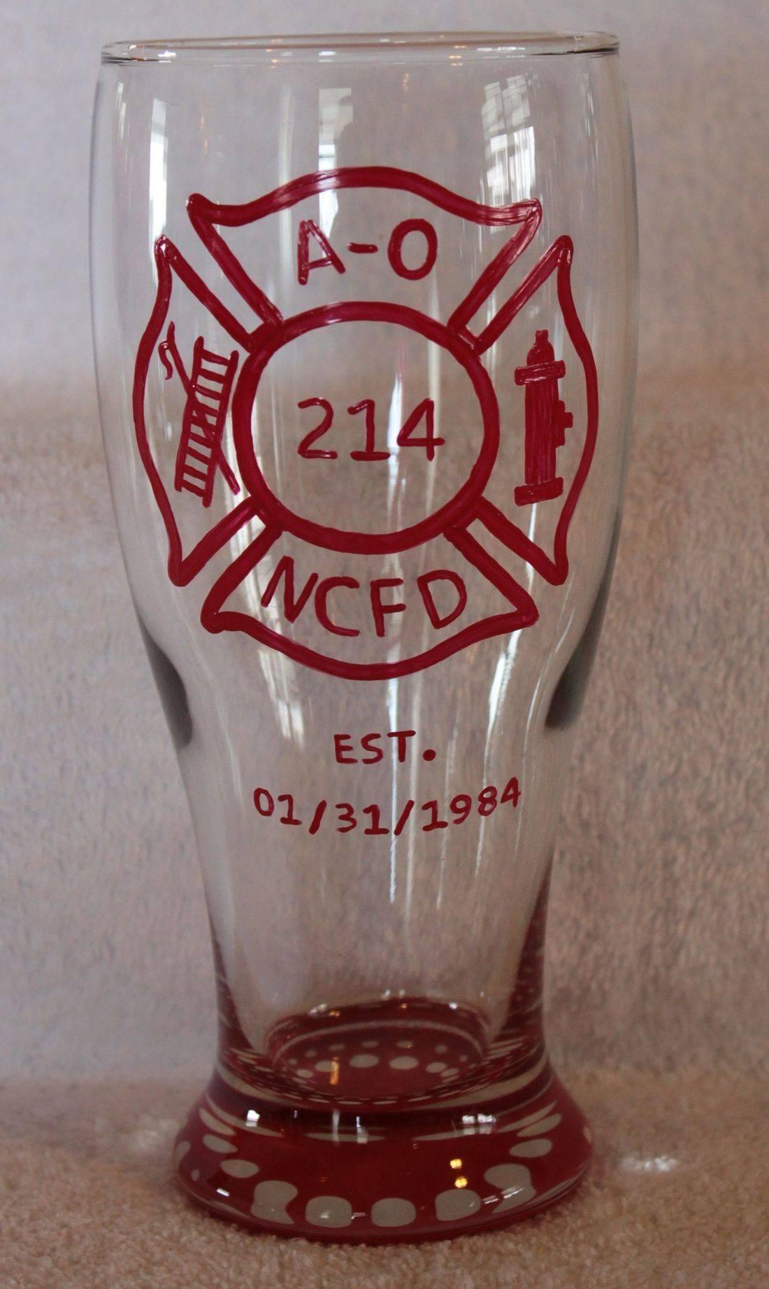 Fireman glass