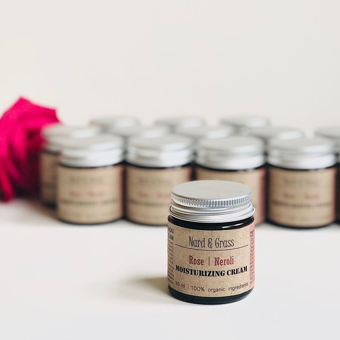 rose face balm, clean rose-infused beauty, bulgarian rose oil, organic ingredients, natural skincare, rosepost box