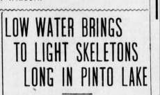 Ohlone skeletons, pinto lake skeletons