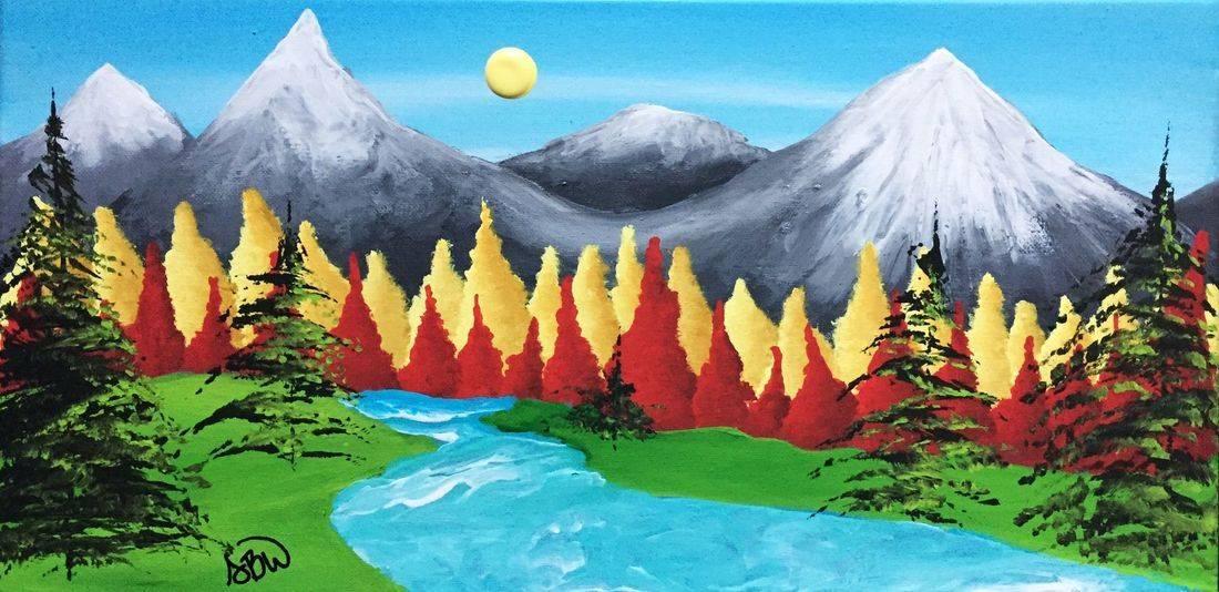 Original Canvas Painting Artwork