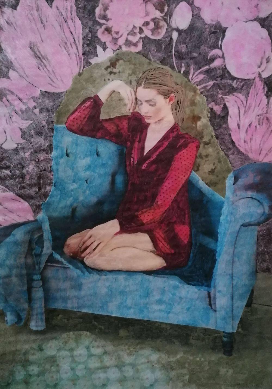 Aquarelle, Femme, Histoire de l'art, Intérieurs