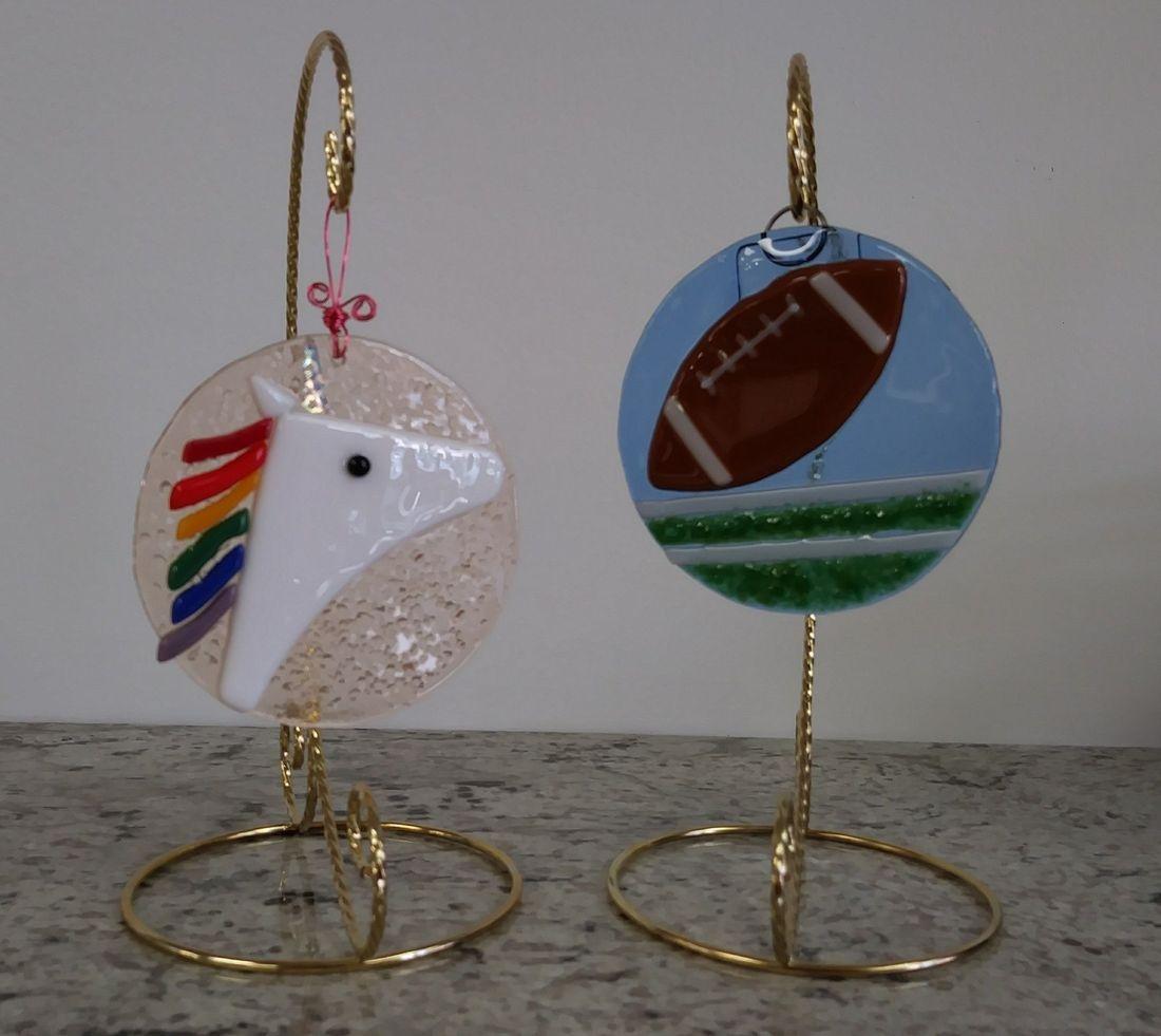 Sun Catcher Birthday Party Fused Glass Handmade Create