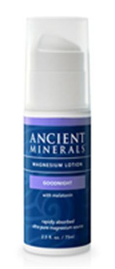 New Ancient Minerals Goodnight Lotion with Melatonen