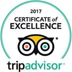 Napa Sonoma Wine Tasting Driver 2017 TripAdvisor Award of Excellence