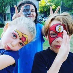 Face Painting party and event entertainment for children and adults