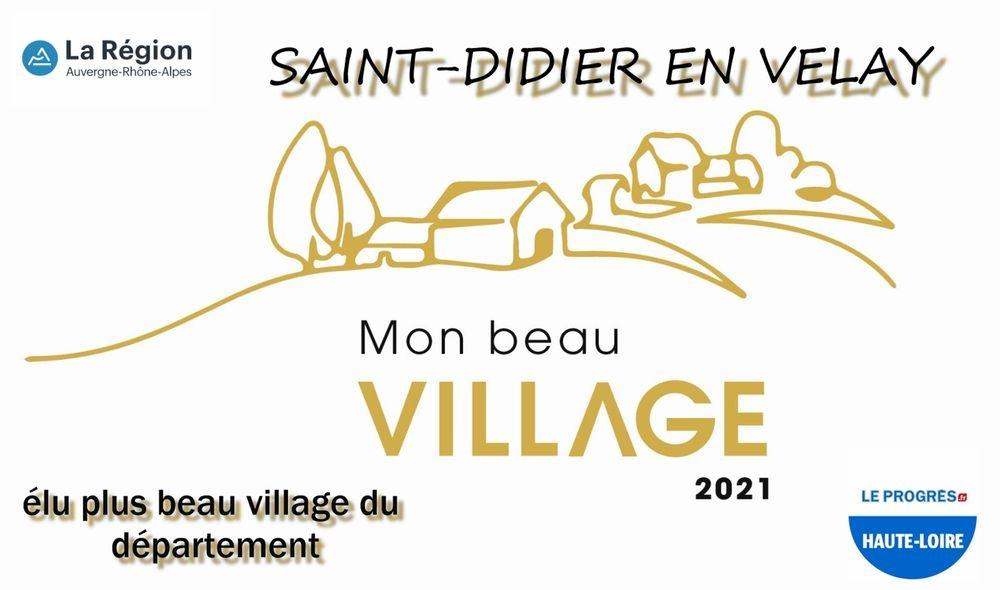 Mon beau Village 2021 La Tribune Le Progrès Haute Loire 43