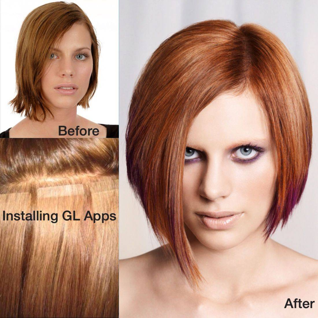 wonderfullengths  hair extensions fusion tape-in greatlengths