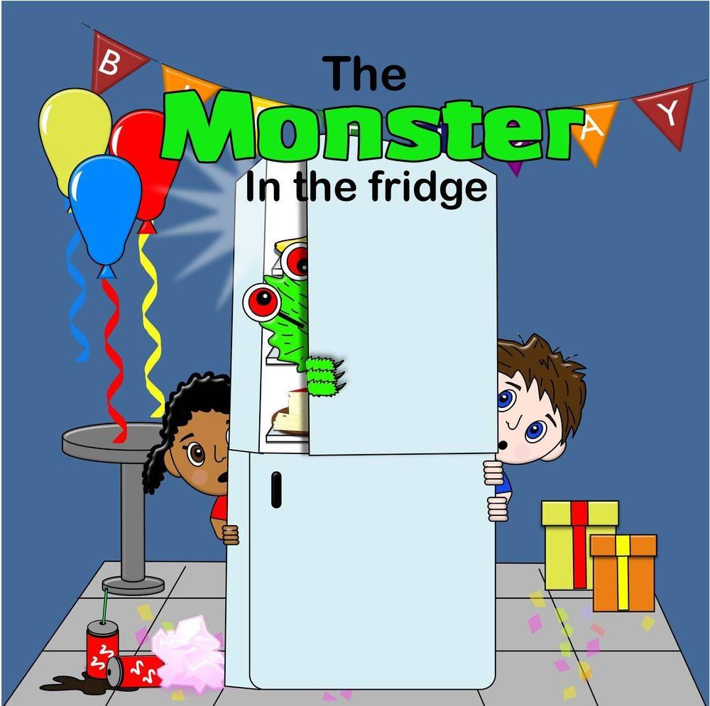 children's book, children, birthday, funny, monster