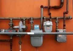 gas pipe, gas meters J. Downs Plumbing LLC
