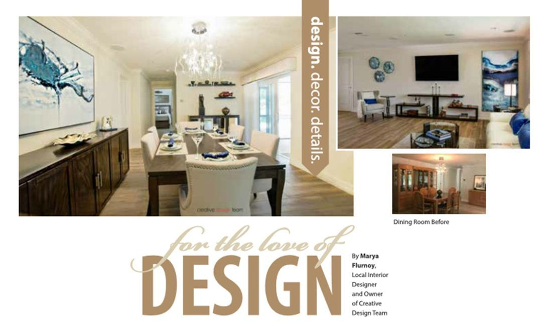 seminole interior design, largo remodel, before and after