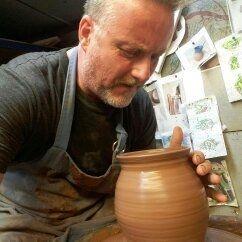 Shell pot chun glaze