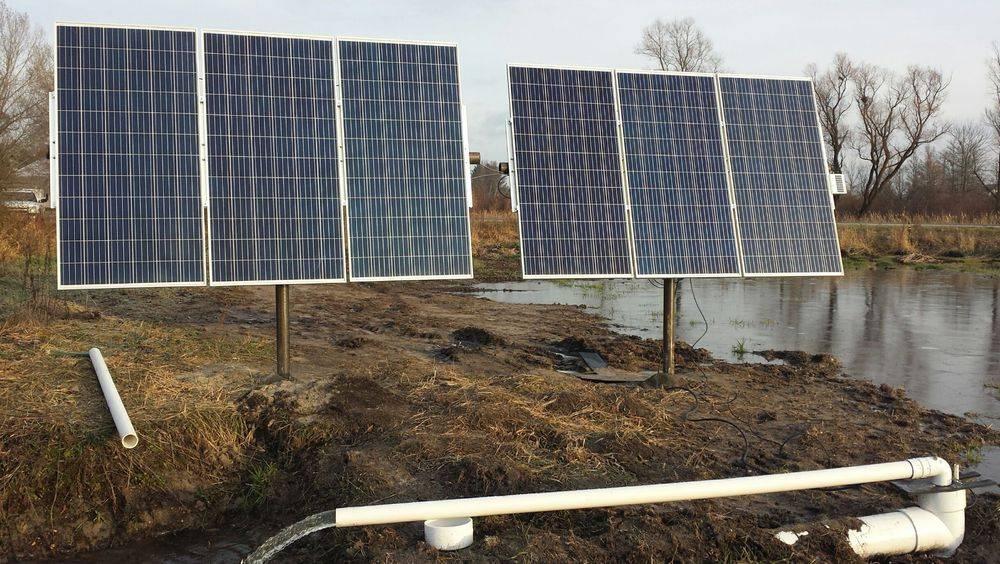 solar powered lift station