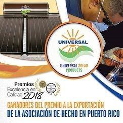 Premio de mejor fabricante 2016 en Puerto Rico