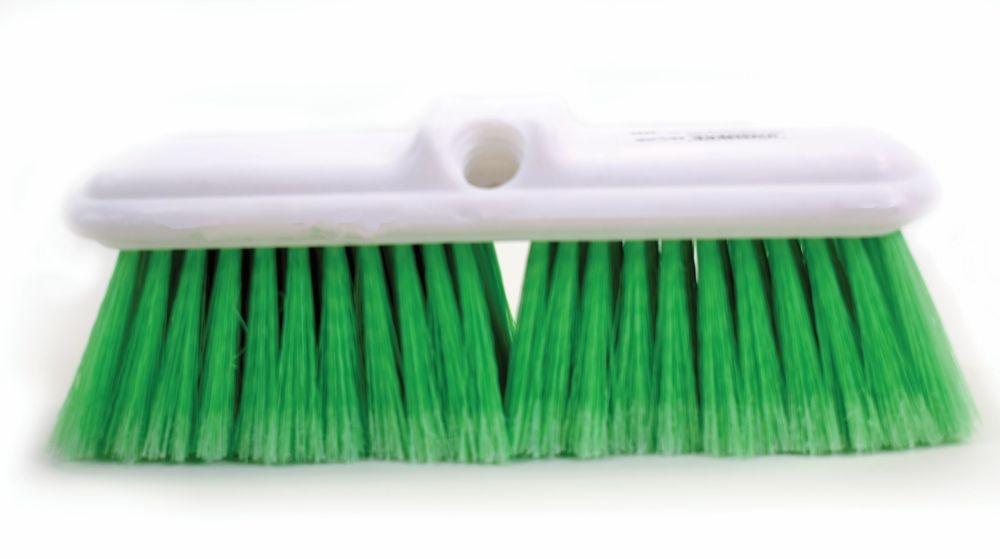 Soft Bristle Car Washing Green Brush