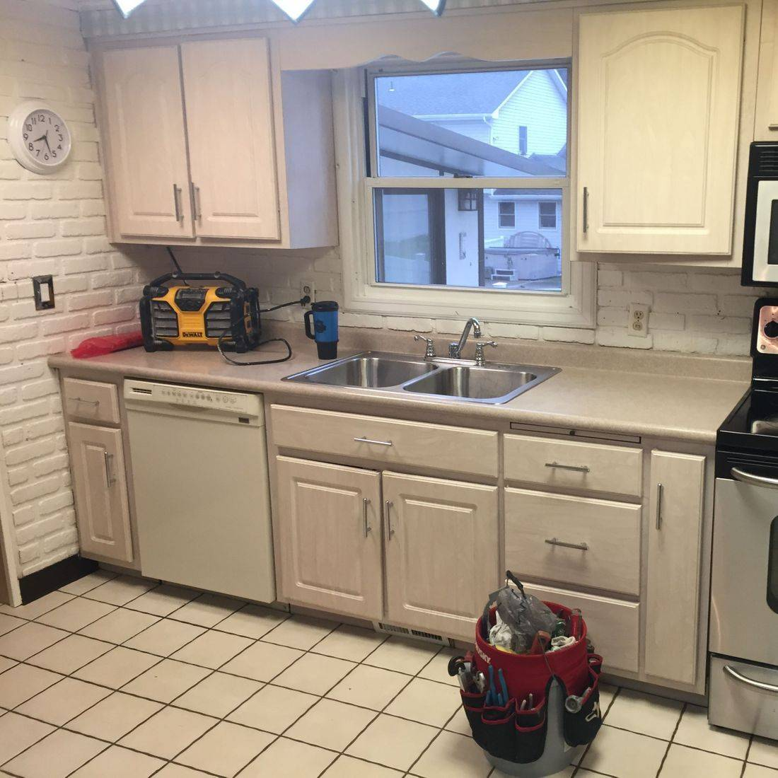 Total Kitchen Renovation/ Before