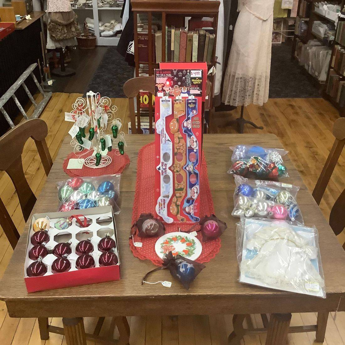 Vintage Christmas Decorations   $.50 to $10.00