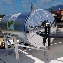 Tanque calentador solar Puerto Rico