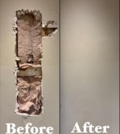 drywall repair work