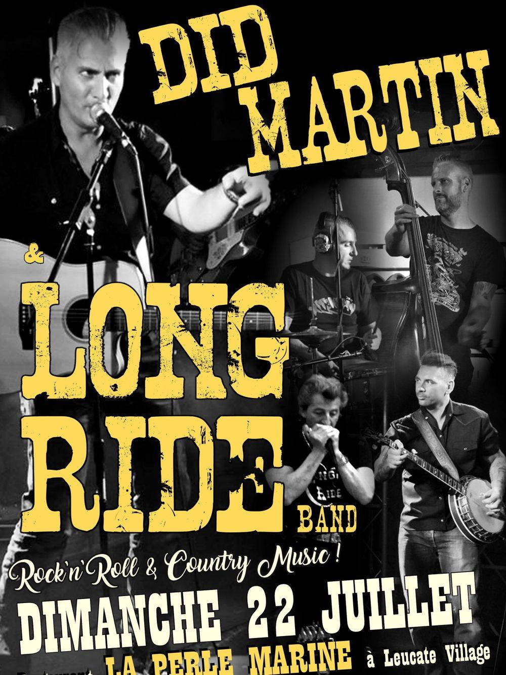 Did MARTIN & LONG RIDE BAND