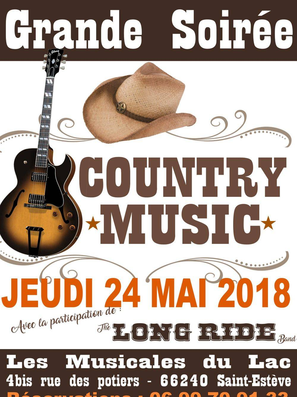 Did MARTIN & LONG RIDE BAND aux portes du lac