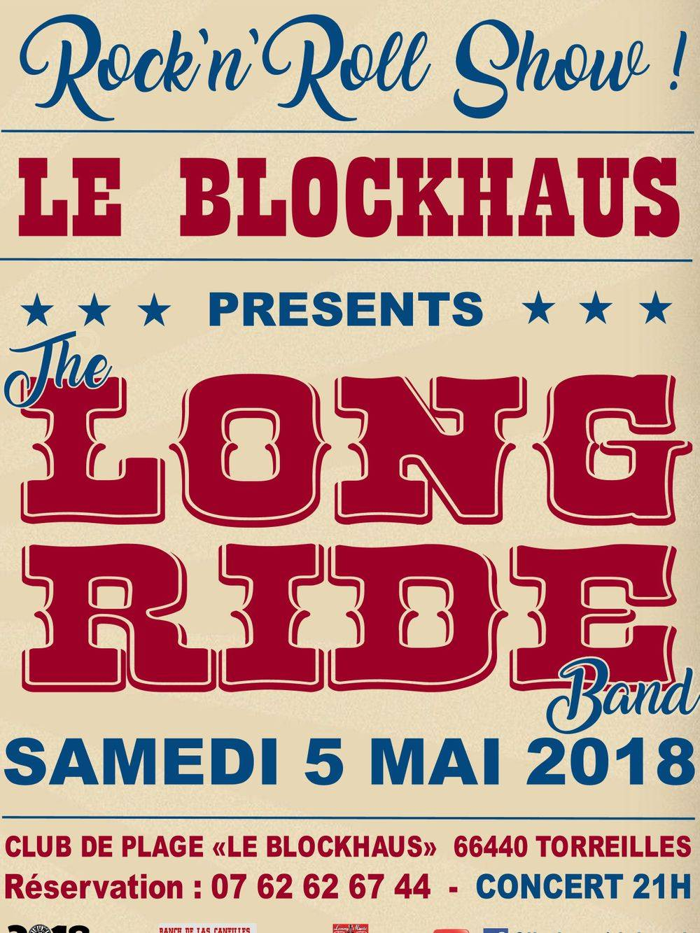 Did MARTIN & LONG RIDE BAND au Blockaus