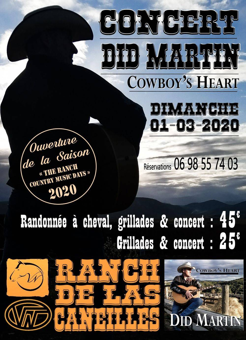 Did MARTIN au Ranch de Las Caneilles
