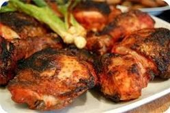 This is Arista's Chicken Tandoori