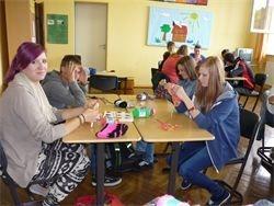 Casa di Lana on Tour/ Workshop in der Ortenbergschule Frankenberg