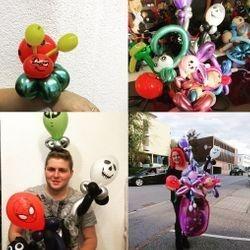 vielfältiges Ballon modellieren