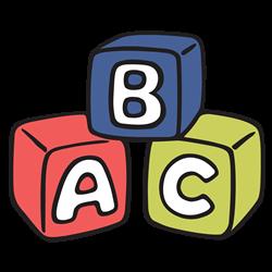 ABC picture blocks