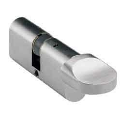 Oval Key & Turn Cylinder