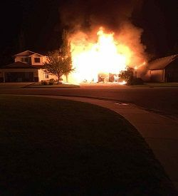 single family home Fire & Explosion Investigation forensic engineering