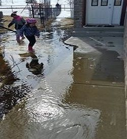 house flooding or grading issues