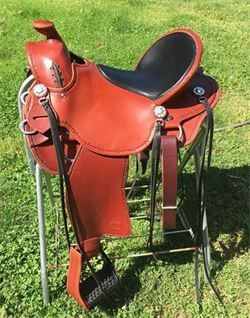 Lightweight Custom Western Saddle