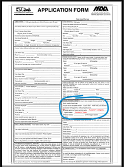 HAA/TAA Apartment Rental Application Form