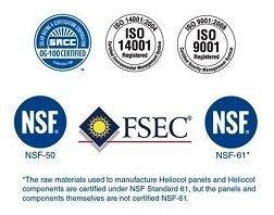 Heliocol Certificaciones