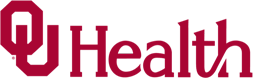 Logo with letters OU and word Health