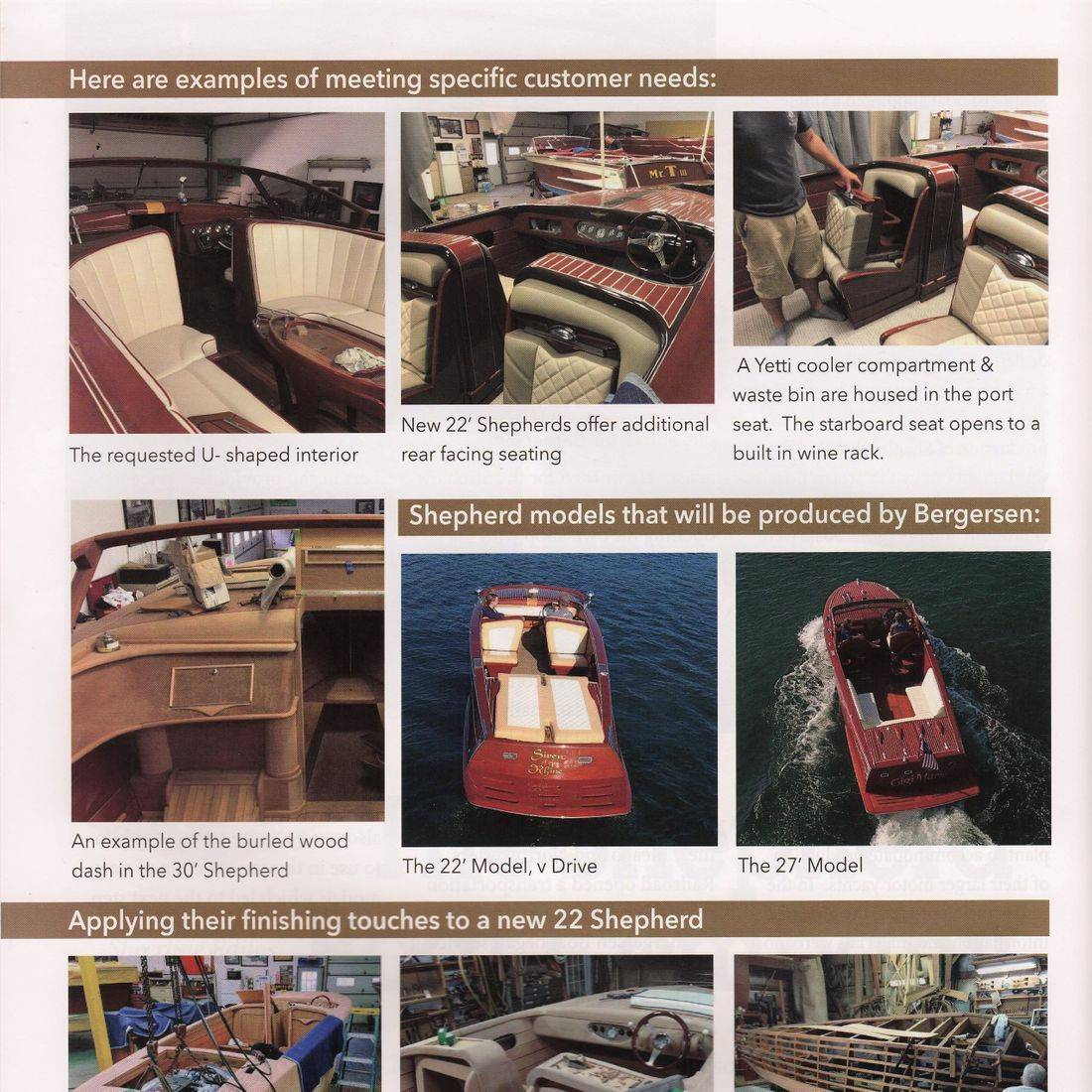 Wooden boat restoration in Clinker magazine