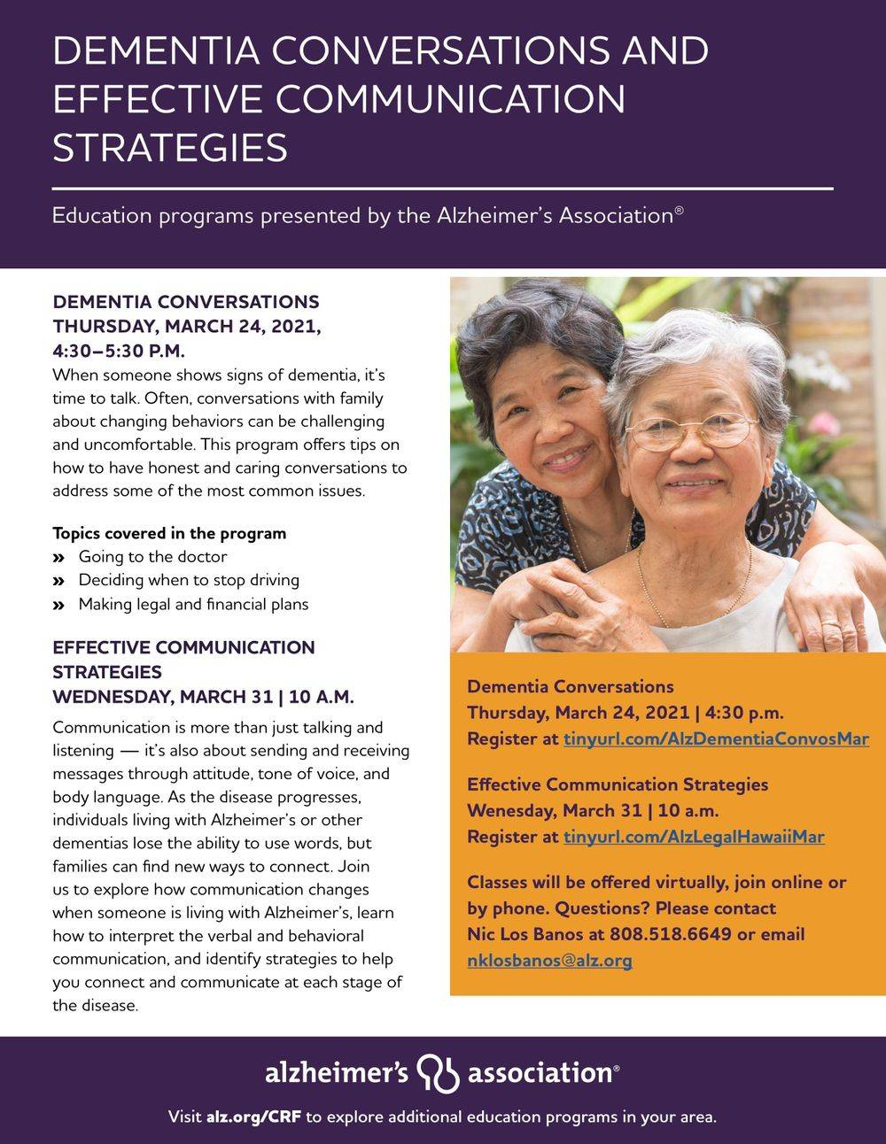 Empower and Protect Persons with Dementia