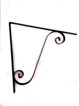 single scroll mounting brackets