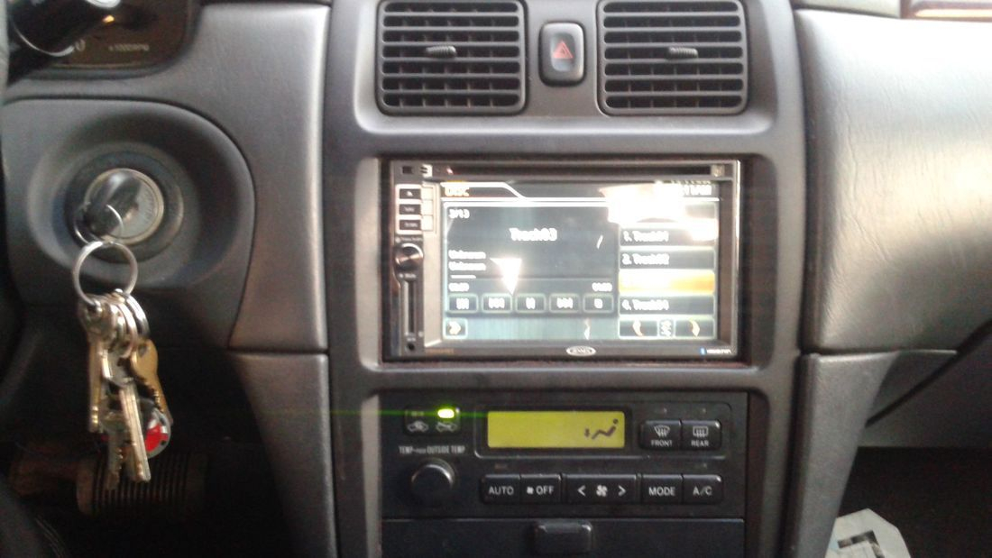 Double Din TV Radio Installation