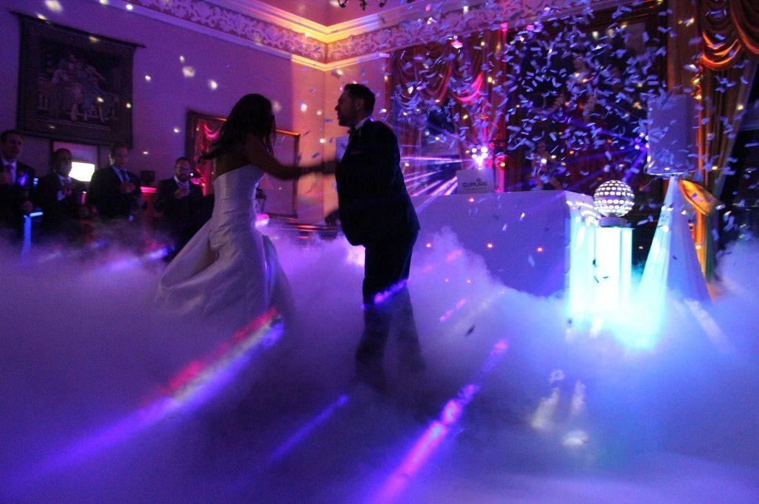 DJ PURE DANCING ON CLOUDS PURE WEDDING DJS CRAIG Y NOS CASTLE