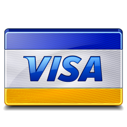 We accept Visa as payment for your upcoming Des Moines move