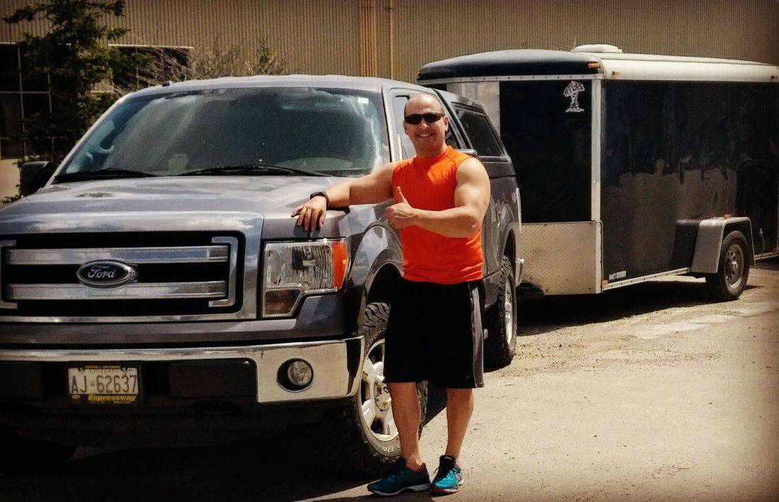 moving truck, truck and trailer, small moves, apartment, condo, muscle, strength