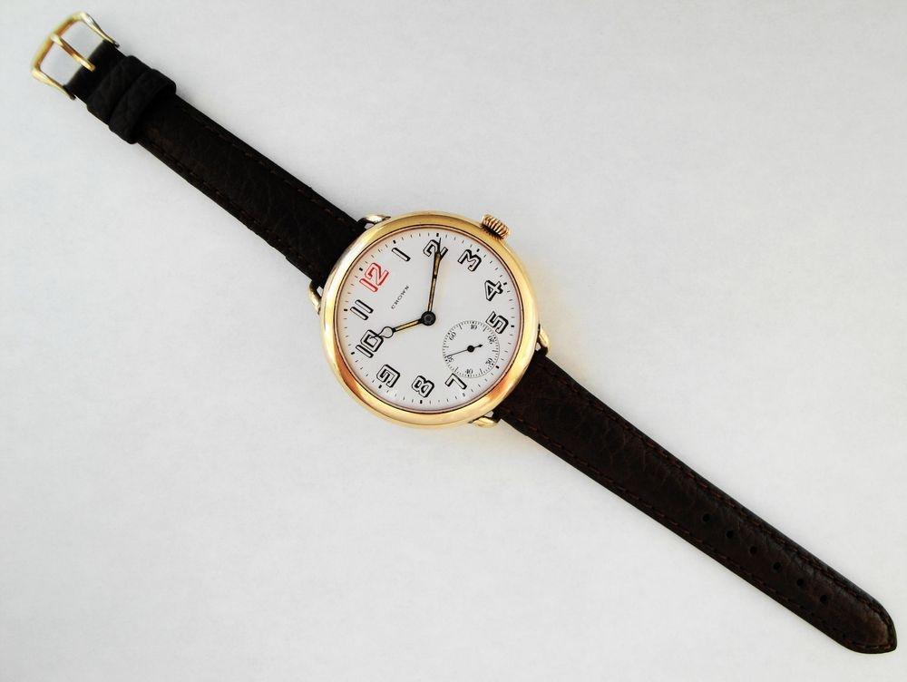BEHEMOTH 47mm Size 12s Crown Watch Company Trench Watch