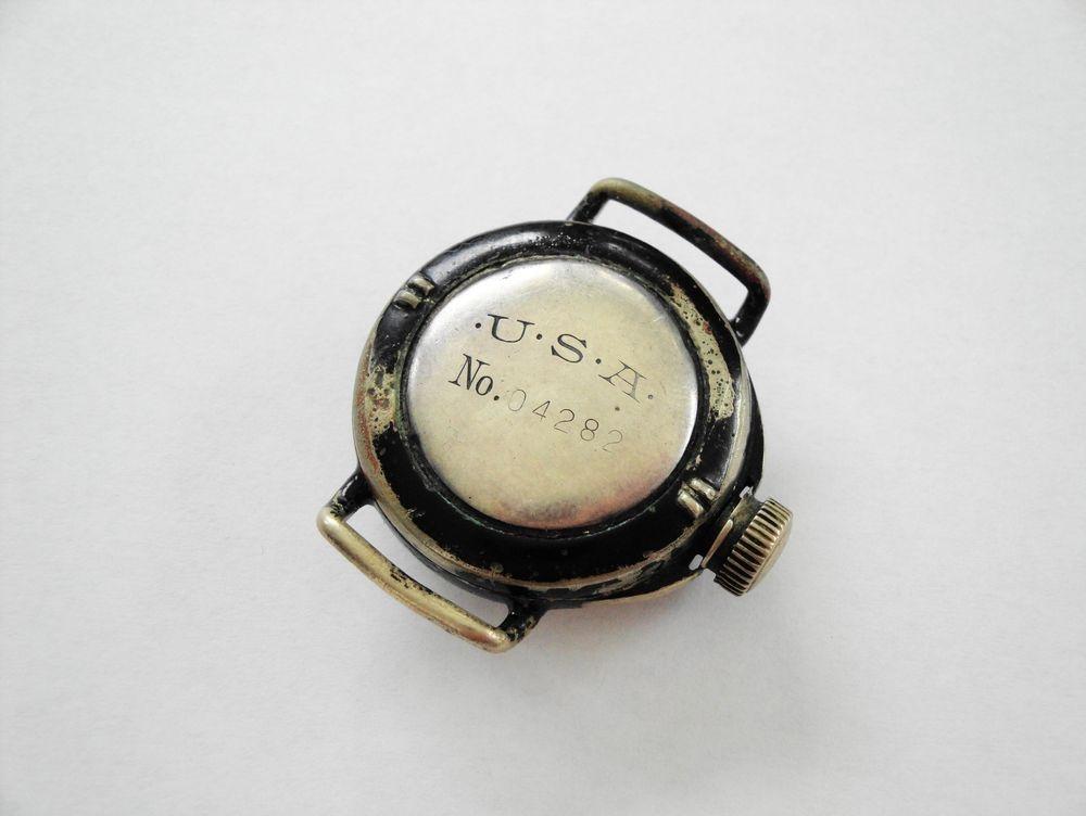 1919 Illinois Depollier Waterproof Field & Marine Watch, USA= US Army