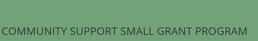 manitoba community small grant recipient
