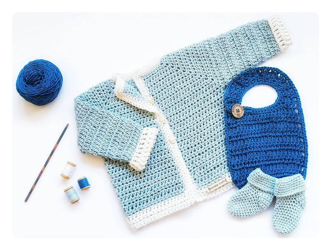 vegan, royal baby, Sussex royals, newborn gift set, crochet gift, Bramble Crafts, vegan crochet