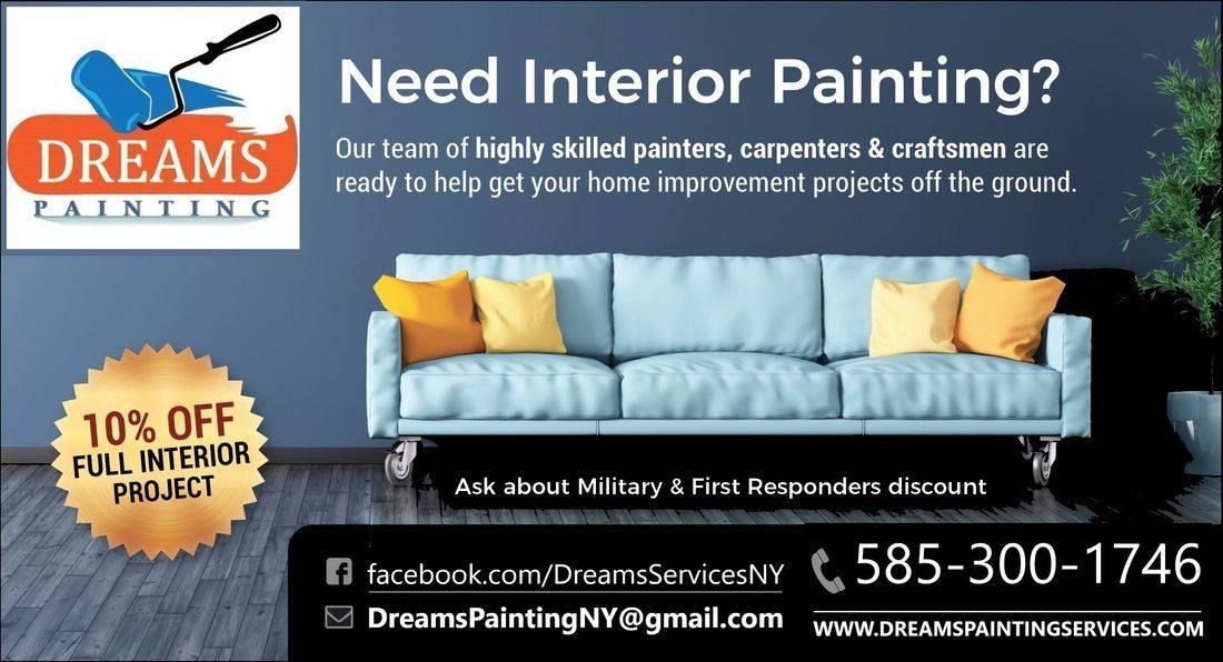 10% Off Full Interior Painting
