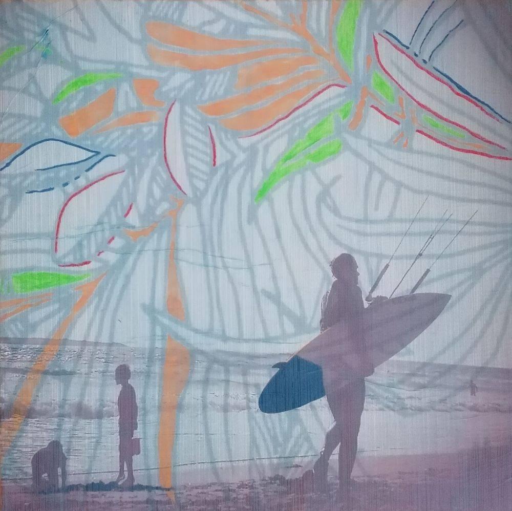 Aquarelle, Acrylique, Enfants, Histoire de l'art, Mer